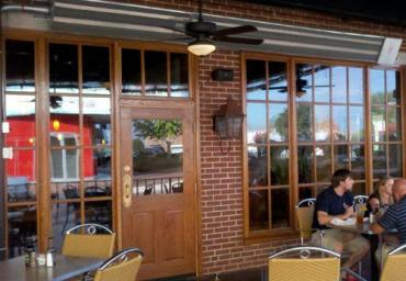 infrared-patio-heaters-mounted-above-restaurant-cafe